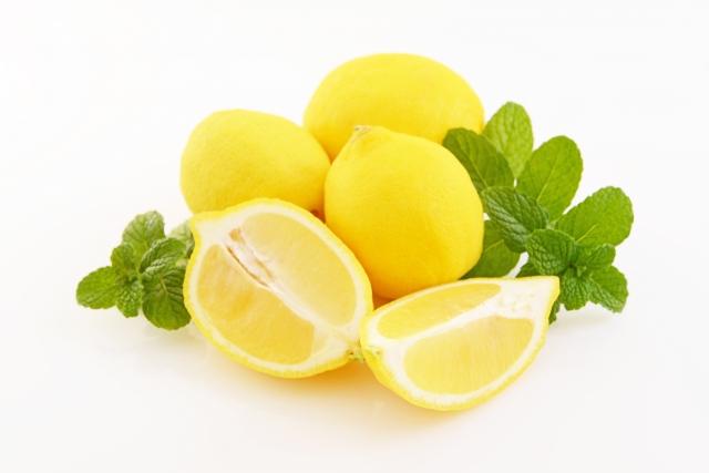 酸っぱい味のレモン
