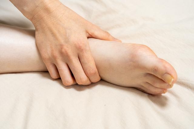 脚の浮腫み